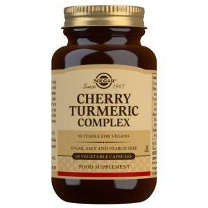 Cereza y Cúrcuma Complex – 60 Cápsulas vegetales