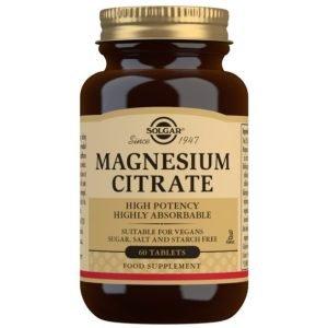 Citrato De Magnesio (60 Comprimidos)