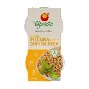 Vasito de Arroz Integral y Quinoa Roja