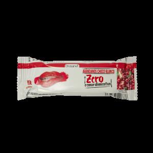 Barrita proteica arándanos-chocolate blanco 35 g Zero Remordimientos Drasanvi