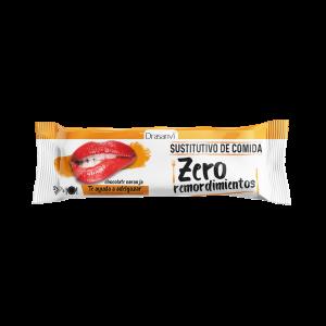 Barrita sustitutiva chocolate naranja 35 g  Zero remordimientos