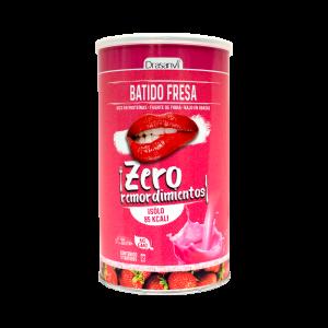Batido proteico fresa 425g  Zero remordimientos