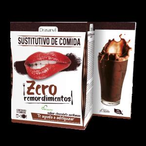 Caja batido sustitutivo chocolate-avellanas 6 sobres 6×52 g  Zero remordimientos