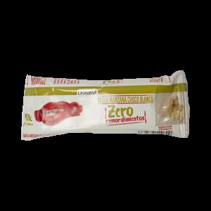 Barrita proteica yogurt-manzana y chocolate blanco 35 g  Zero remordimientos