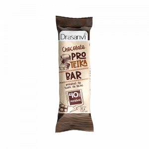 Barrita proteica con chocolate