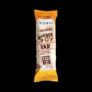 Barrita energética con chocolate