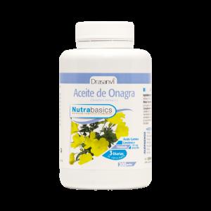 Nutrabasics – Aceite de Onagra 500, 200 perlas