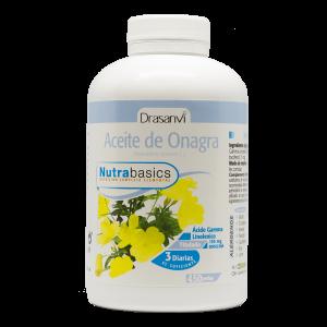 Nutrabasics – Aceite de Onagra 500, 450 perlas