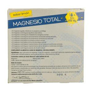 Magnesio total (sabor limón) – 12 sobres