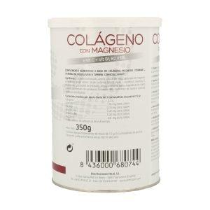 Colágeno con Magnesio y Vitamina C + B1 B2 B6 Amlsport (Fresa)