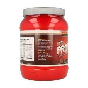 Proteínas 100% (sabor fresa) – 500 gr.