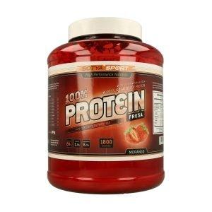 Proteinas 100% (Sabor Fresa) – 1,8 kg.