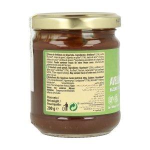 Crema de Avellana y Algarroba Bio