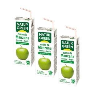 Zumo de Manzana – 3 unid. de 200 ml.