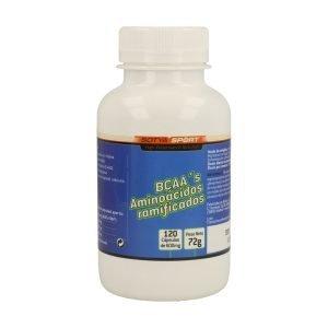 Bcaa`s Aminoácidos Ramificados – 120 cáps.