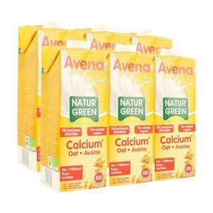 Bebida de Avena y Calcio Bio – 6 unid. de 1 lt.