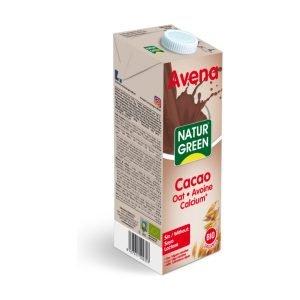 Bebida de Avena Cacao Calcium – 1 Lt.