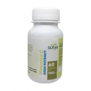 Vitamina C High Potency – 60 cáps.