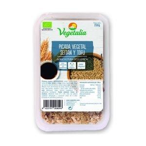 Picada vegetal (seitan y tofu)
