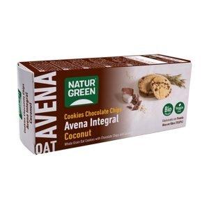 Cookie de Avena Integral con Coco Bio