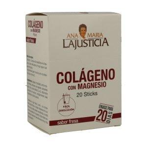 Colágeno con magnesio – 20 sobres (Fresa)