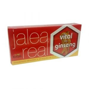 Jalea Real Vital con Ginseng – 20 viales