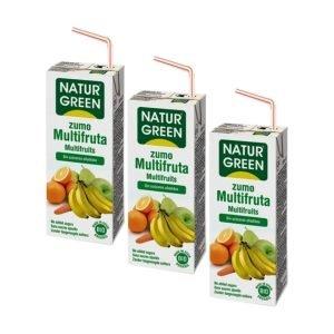 Zumo Multifrutas – 3 unid. de 200 ml.