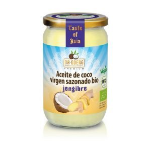 Aceite de Coco Jengibre Bio