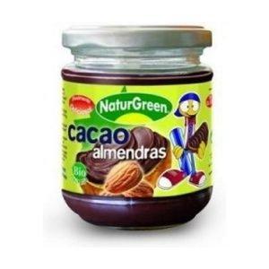 Crema de Cacao y Almendras Bio Sin Gluten