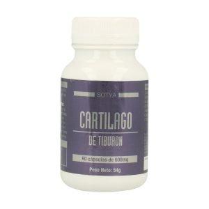 Cartílago de Tiburón – 90 cáps. 600 mg.