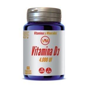 Vitamina D3 (4.000 UI) – 60 cáps. vegt.