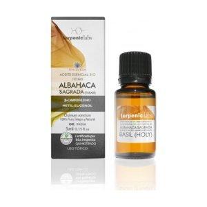 Aceite Esencial Albahaca Sagrada Bio