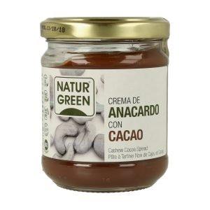 Crema de Anacardo con Cacao
