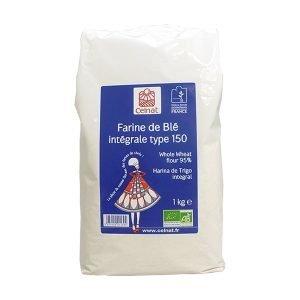 Harina de trigo integral tipo 150