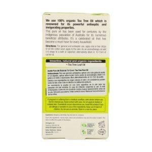 Aceite Puro Árbol de té Orgánico