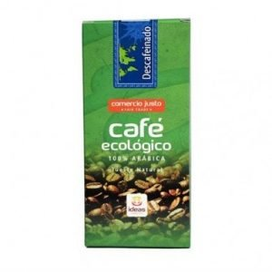 CAFÉ DESCAFEINADO MOLIDO BIO 250 G – Comercio Justo