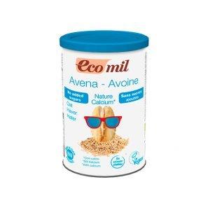Ecomil Bebida de avena sin azúcares añadidos calcio Instant Bio 400 g