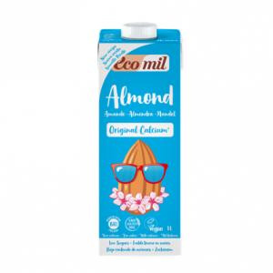 Ecomil Leche de almendra original calcium Bio 1 L