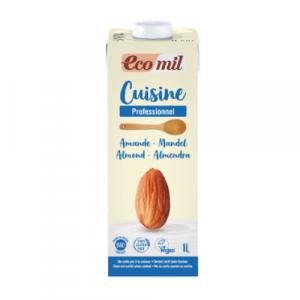 Ecomil Cuisine Almond Bio 1 L Descripción