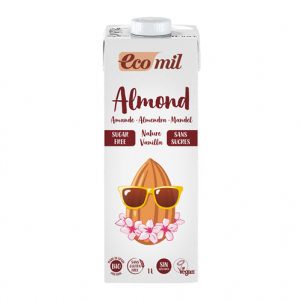 Ecomil Almond sin azúcares vainilla Bio 1L