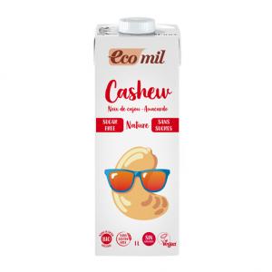 Ecomil Bebida de anacardo sin azúcar Bio 1 L