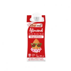 Ecomil Leche de almendra original cacao Bio 200 ml