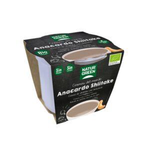 Caldo en Crema de Anacardo y Shiitake Bio Naturgreen 310 g