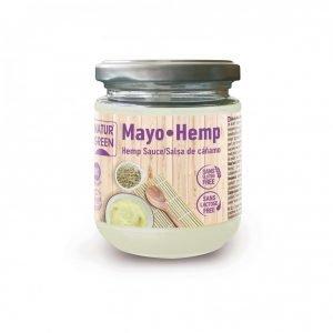 Mayo Hemp Salsa Vegana de Cáñamo Bio NaturGreen 245 g
