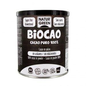 Biocao Cacao Puro 100% 280gr Naturgreen