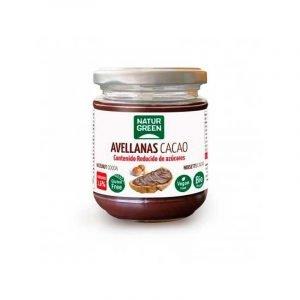 Crema De Avellanas y Cacao Bajo en Azúcares 200g Naturgreen