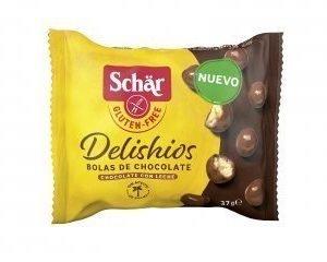 Delishios bolas de chocolate con leche – Schar