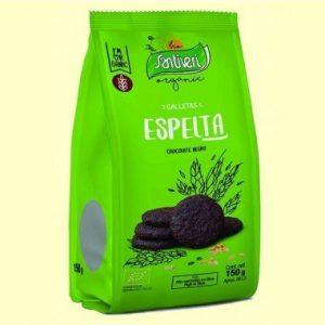 GALLETAS DE ESPELTA CON CHOCOLATE NEGRO BIO