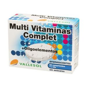 VALLESOL MULTI VITAMINAS + OLIGOELEMENTOS. COMPLET