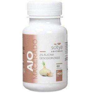 Ajo Macerado – 60 perlas de 1000 mg.